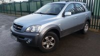USED 2005 55 KIA SORENTO 2.5 XE CRDI 5d 139 BHP ALLOYS TOWBAR A/C MOT 09/20 BLUE MET WITH FULL GREY CLOTH TRIM. 16 INCH ALLOYS. COLOUR CODED TRIMS. AIR CON. MFSW. TOW BAR. AGE/MILEAGE RELATED SALE. PART EXCHANGE CLEARANCE CENTRE- LS237FQ. TEL 01937 849492 OPTION 3