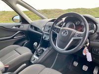 USED 2012 12 VAUXHALL ZAFIRA TOURER 1.4 i VVT 16v Turbo SRi 5dr 7 SEATS!  1 LADY OWNER F/V/S/H
