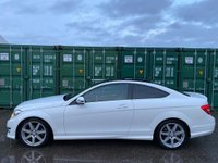 USED 2014 14 MERCEDES-BENZ C CLASS 2.1 C250 CDI AMG Sport Edition (Premium Plus) 7G-Tronic Plus 2dr ReverseCam/PanRoof/AMGPack/DAB