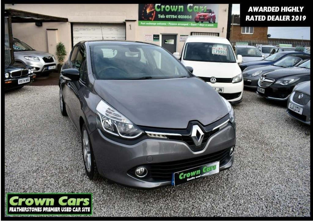 USED 2013 13 RENAULT CLIO 1.5 dCi ENERGY Dynamique MediaNav (s/s) 5dr 3 MONTH WARRANTY & PDI CHECKS