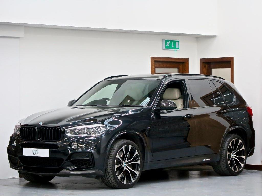 USED 2013 63 BMW X5 3.0 M50d Auto xDrive (s/s) 5dr PAN ROOF + 7 SEATS + 360 CAM