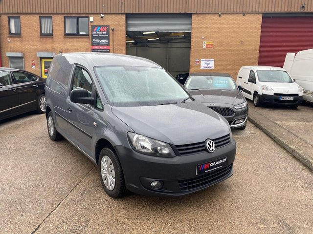 2014 14 VOLKSWAGEN CADDY 1.6 C20 TDI STARTLINE BLUEMOTION TECHNOLOGY AIR CON NO VAT 101 BHP RARE COLOUR SOLD TO PHIL FROM WAKEFIELD