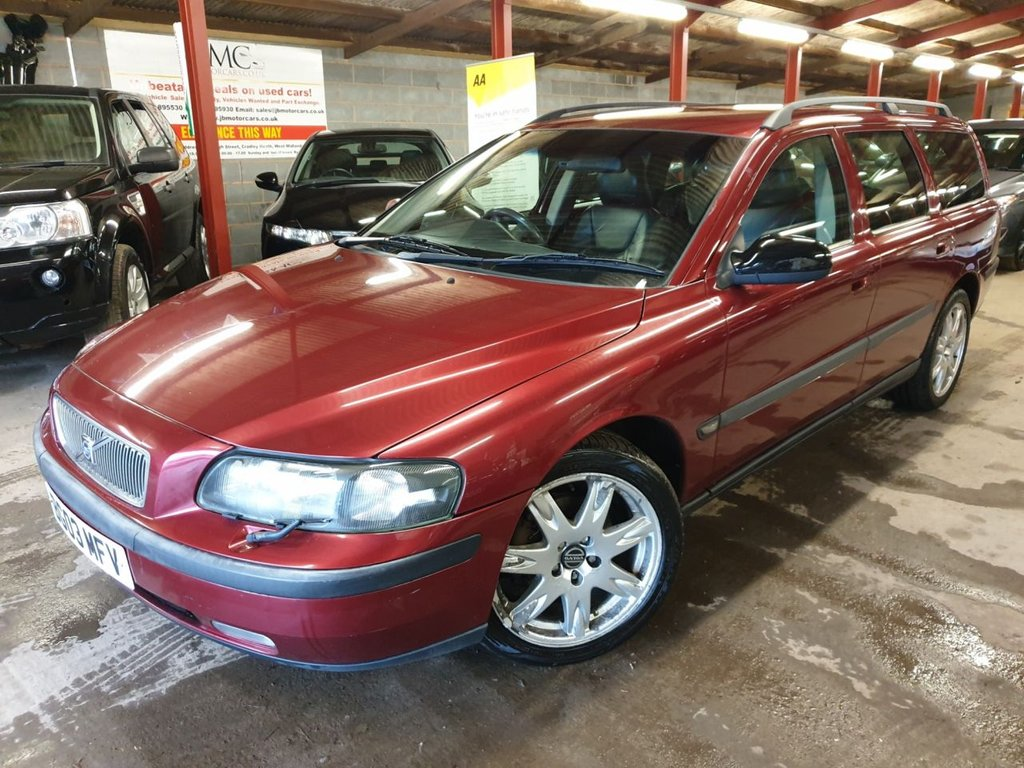 USED 2003 03 VOLVO V70 2.4 D5 SE 5d 163 BHP +++GREAT WORKHORSE+++