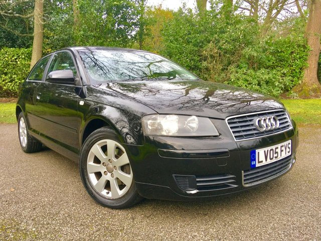 2005 05 AUDI A3 1.6 FSI SE 3d 114 BHP/NO ULEZ Charge Due for this vehicle/1 PRIVATE OWNER / ONLY 60,000 MILES / X10 SERVICE HISTORY STAMPS