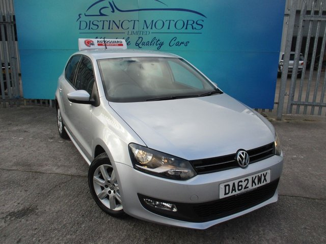 USED 2012 62 VOLKSWAGEN POLO 1.4 MATCH DSG 5d 83 BHP