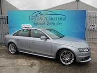 2010 AUDI A4 2.0 TDI S LINE SPECIAL EDITION 4d 120 BHP £8249.00