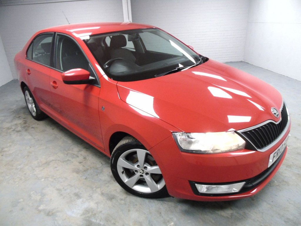 USED 2013 13 SKODA RAPID 1.6 ELEGANCE TDI CR 5d 104 BHP £113 a month, T&Cs apply.