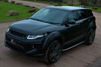 USED 2017 17 LAND ROVER RANGE ROVER EVOQUE 2.0 TD4 SE Tech Auto 4WD (s/s) 5dr NAV+PAN ROOF+22' KHAN ALLOYS