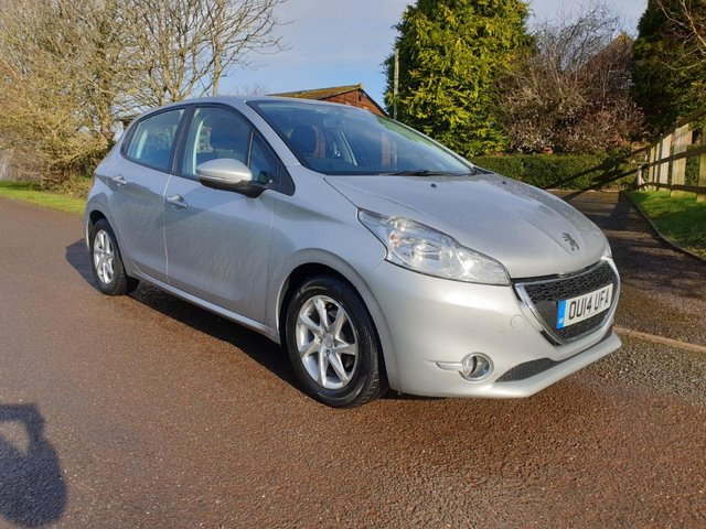 USED 2014 14 PEUGEOT 208 1.4 ACTIVE HDI 5d 68 BHP ** MOT ** FULL SERVICE HISTORY ** £0 ROAD FUND ** LOVELY DRIVE **