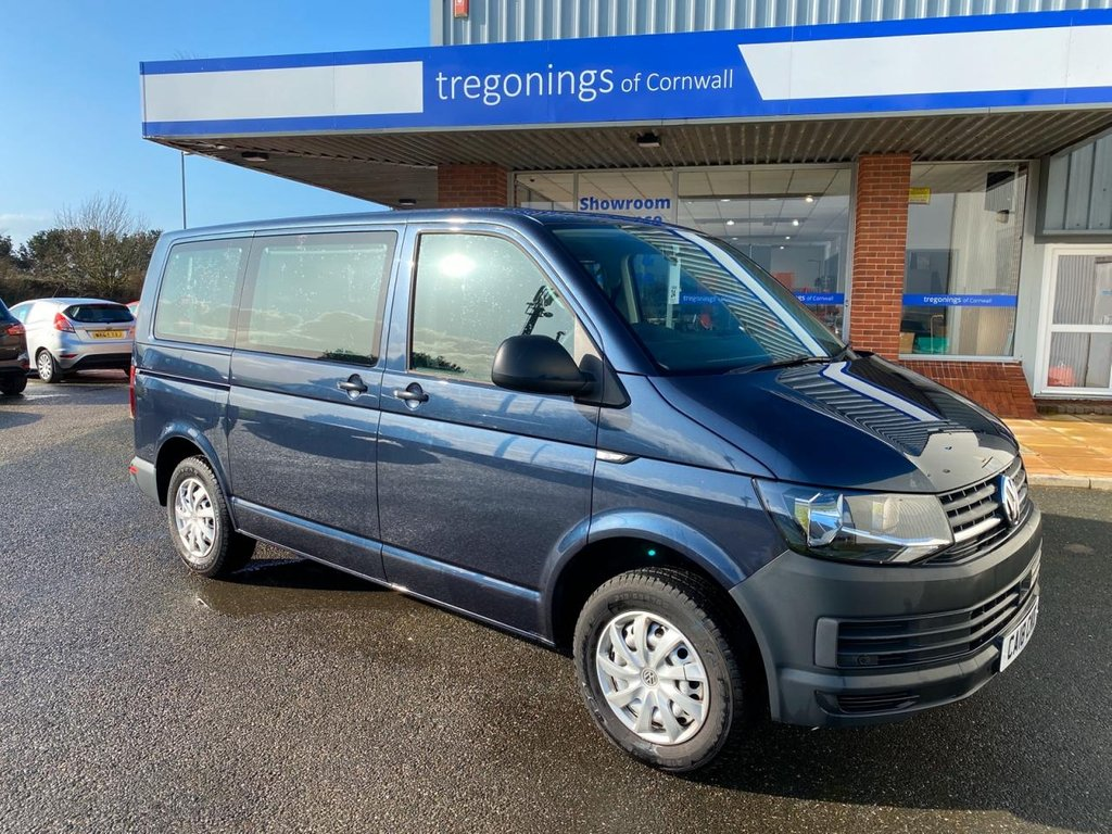 USED 2018 18 VOLKSWAGEN TRANSPORTER 2.0L T30 TDI SHUTTLE S BMT 5d 83 BHP