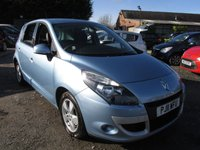 USED 2011 11 RENAULT SCENIC 1.6 DYNAMIQUE TOMTOM VVT 5d 110 BHP SAT/NAV ALLOYS CD AIRCON LOW MILEAGE
