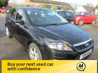 USED 2011 11 FORD FOCUS 1.6 ZETEC 5d 99 BHP ALLOYS CD AIRCON ELECTRIC PACK