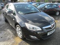 USED 2010 60 VAUXHALL ASTRA 1.6 EXCLUSIV 5d 113 BHP SERVICE HISTORY LOW MILEAGE
