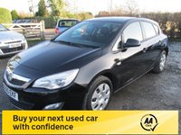 USED 2010 60 VAUXHALL ASTRA 1.4 EXCLUSIV 5d 98 BHP SERVICE HISTORY LOW MILEAGE