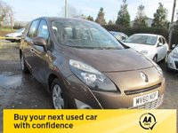 USED 2010 60 RENAULT GRAND SCENIC 1.5 DYNAMIQUE TOMTOM DCI 5d 105 BHP SAT NAV 7 SEVEN SEATER ALLOYS CD AIRCON