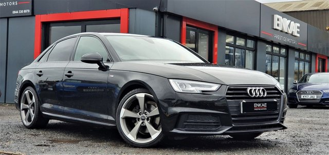 2017 67 AUDI A4 1.4 TFSI BLACK EDITION 4d 148 BHP