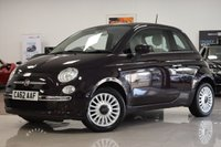 USED 2012 62 FIAT 500 1.2L LOUNGE 3d 69 BHP STUNNING FIAT 500 MUST BE SEEN!