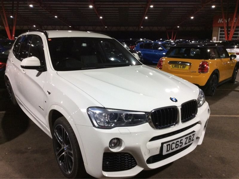 USED 2016 65 BMW X3 2.0 XDRIVE20D M SPORT 5d 188 BHP High Spec FBMWSH