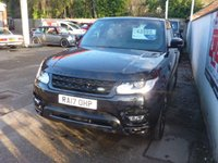USED 2017 17 LAND ROVER RANGE ROVER SPORT 3.0 SDV6 HSE DYNAMIC 5d 306 BHP FULL LAND ROVER SERVICE HISTORY,7 SEATER