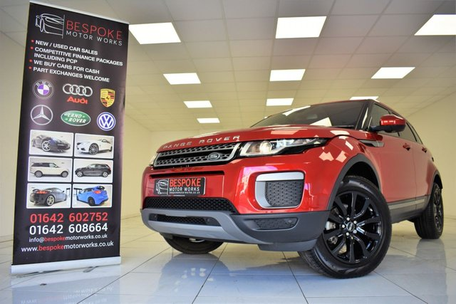 2017 17 LAND ROVER RANGE ROVER EVOQUE 2.0 ED4 SE 5 DOOR
