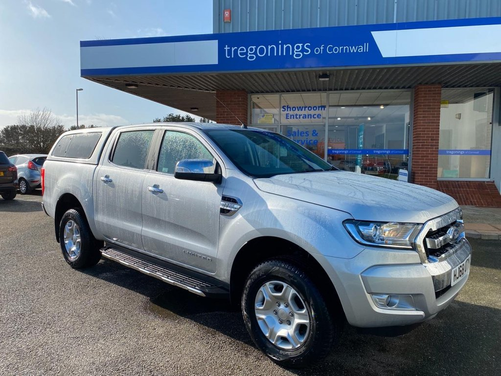 USED 2018 68 FORD RANGER 2.2L LIMITED 4X4 DCB TDCI 4d 158 BHP
