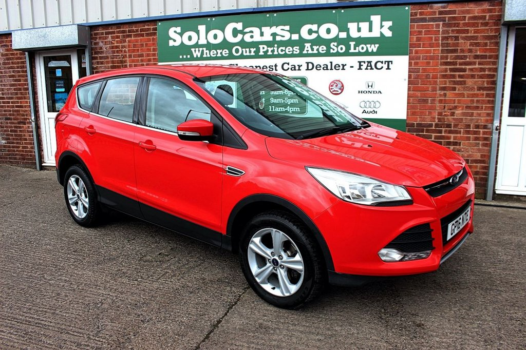 USED 2016 16 FORD KUGA 1.5 ZETEC 5d 148 BHP +ONE OWNER +SENSORS +FSH.