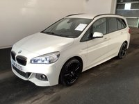 USED 2016 16 BMW 2 SERIES 220D M SPORT GRAN TOURER 5d 7 Seat  Comfort Package 7 Seats FBMWSH
