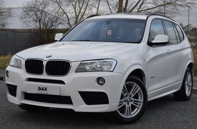 2013 13 BMW X3 2.0 XDRIVE20D M SPORT 5d 181 BHP