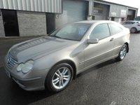 2003 MERCEDES-BENZ C 220 C220 SE COUPE 2 DOOR DIESEL AUTO 99851 MILES 2 KEYS £1991.00