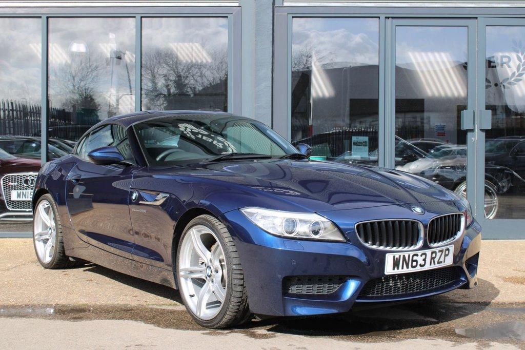USED 2013 63 BMW Z4 2.0 Z4 SDRIVE28I M SPORT ROADSTER 2d 242 BHP