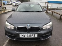 USED 2016 16 BMW 1 SERIES 1.5 116D SE 5d 114 BHP