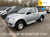 2015 MITSUBISHI L200 2.5 DI-D 4X4 4LIFE CLUB CAB 134 BHP *18,000 MILES* £9995.00