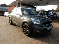 USED 2011 60 MINI COUNTRYMAN 1.6 COOPER S ALL4 5d 184 BHP SAT NAV,FULL LEATHER,PAN ROOF,PARKING SENSORS,BLUETOOTH,AIR CON,