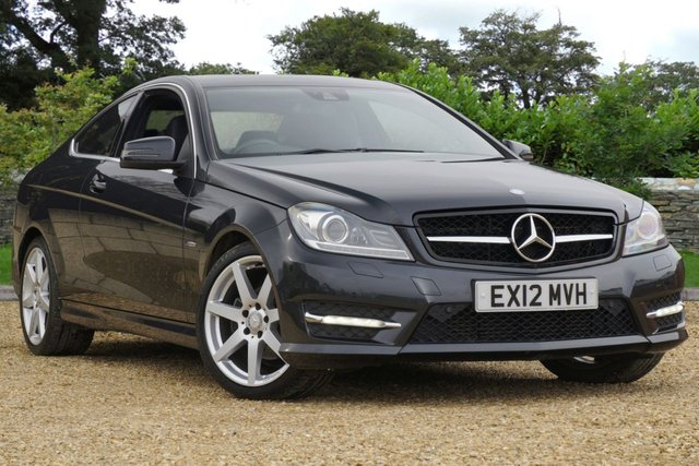 2012 12 MERCEDES-BENZ C-CLASS C220 CDi 7G-Tronic BlueEFFiCiENCY AMG Sport COUPE Diesel Automatic