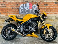 USED 2005 05 TRIUMPH SPEED TRIPLE 1050 Scorched Yellow Full Titanium Arrow Exhaust