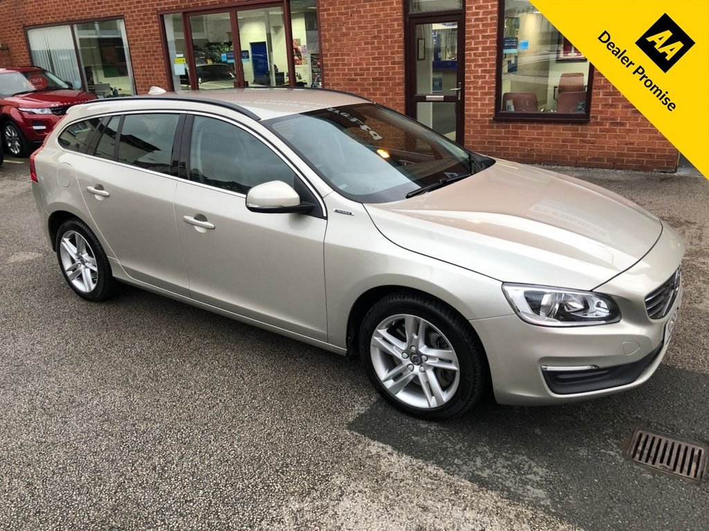 USED 2016 66 VOLVO V60 2.4 D5 TWIN ENGINE SE NAV 5DOOR 231 BHP Beautifully maintained, great running costs ZERO Road tax and plenty of features