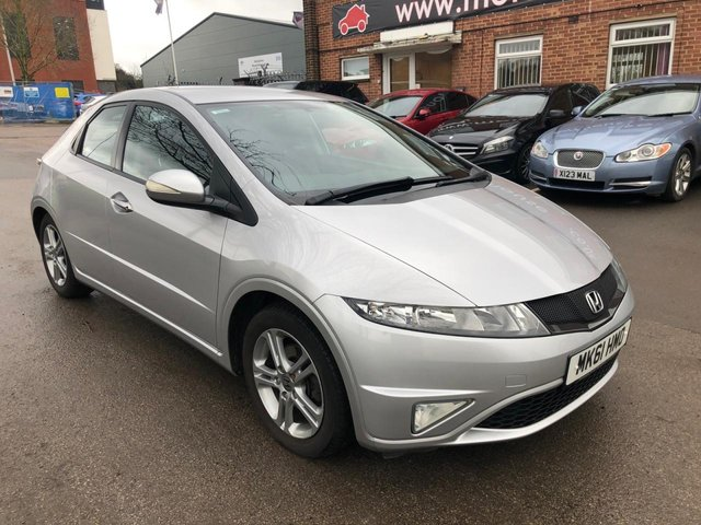USED 2011 61 HONDA CIVIC 1.3 I-VTEC SI 5d 98 BHP FULL SERVICE HISTORY, ALLOY WHEELS, CLIMATE CONTROL, ELECTRIC WINDOWS
