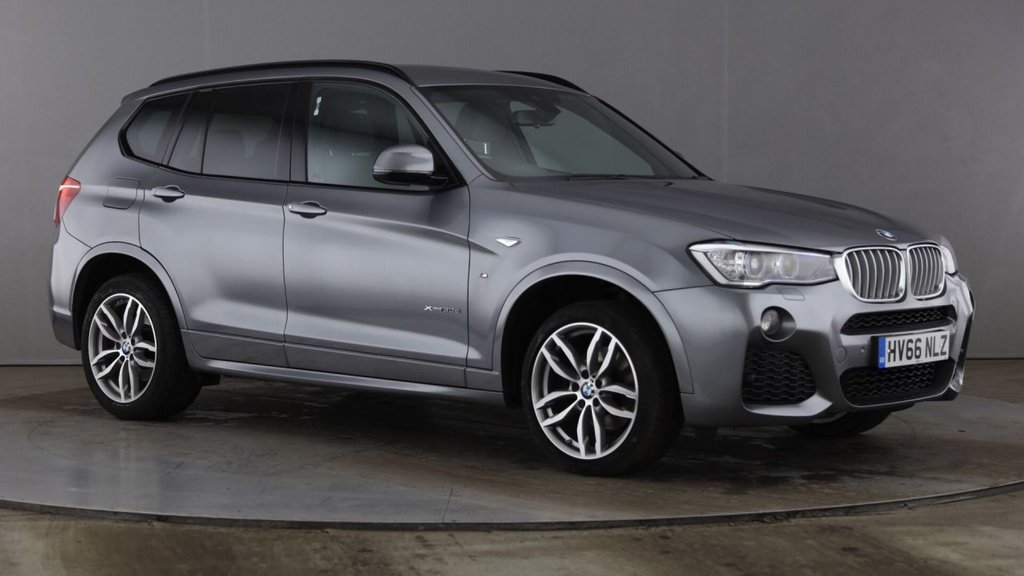 USED 2016 66 BMW X3 3.0L XDRIVE30D M SPORT 5d AUTO 255 BHP Huge Specification FBMWSH