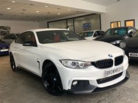 USED 2016 66 BMW 4 SERIES GRAN COUPE 3.0 430D XDRIVE M SPORT GRAN COUPE 4d 255 BHP BM PERFORMANCE STYLING+6.9%APR