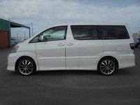 USED 2006 TOYOTA ALPHARD ALPHARD 2.4LTR MPV READY FOR A CAMPERVAN CONVERSION