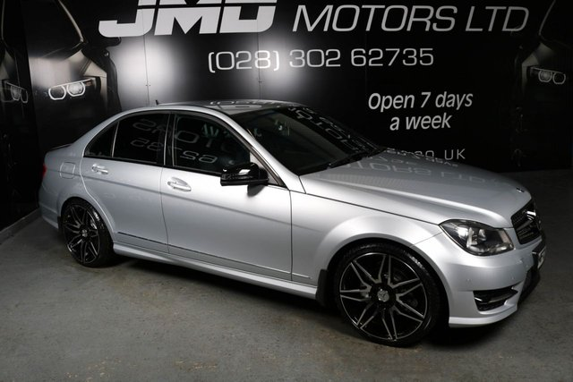 USED 2013 MERCEDES-BENZ C CLASS 2013 MERCEDES C220 CDI BLUEEFFICIENCY AMG SPORT NIGHT EDITION STYLE 168BHP (FINANCE AND WARRANTY)