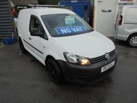 2013 VOLKSWAGEN CADDY 1.6 C20 TDI STARTLINE BLUEMOTION TECHNOLOGY 101 BHP ALLOYS TOW BAR ROOF BARS FULL SERVICE HISTORY VW  NO VAT TO PAY  £4995.00