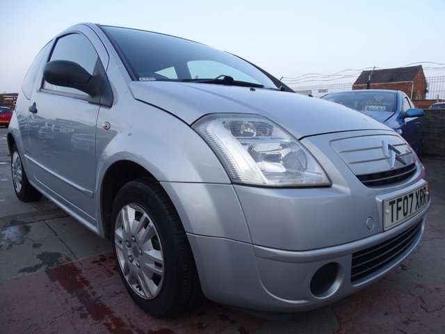 USED 2007 07 CITROEN C2 1.1 DESIGN 3d GREAT LOW MILES CHEAP TO RUN