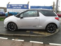 USED 2011 11 CITROEN DS3 1.6 DSPORT HDI  3d 110 BHP £20 Yearly Road Tax. New MOT & Full Service Done on purchase + 2 YEARS FREE MOT TEST & 2 YEARS FULL SERVICE'S INCLUDED. 3 Months Russell Ham Quality Warranty . All Car's Are HPI Clear . Finance Arranged - Credit Card's Accepted . for more cars www.russellham.co.uk  + Spare Key & Owner's Book Pack.