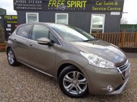 USED 2015 64 PEUGEOT 208 1.2 VTi PureTech Allure 5dr 1 Owner, F.S.H., Bluetooth