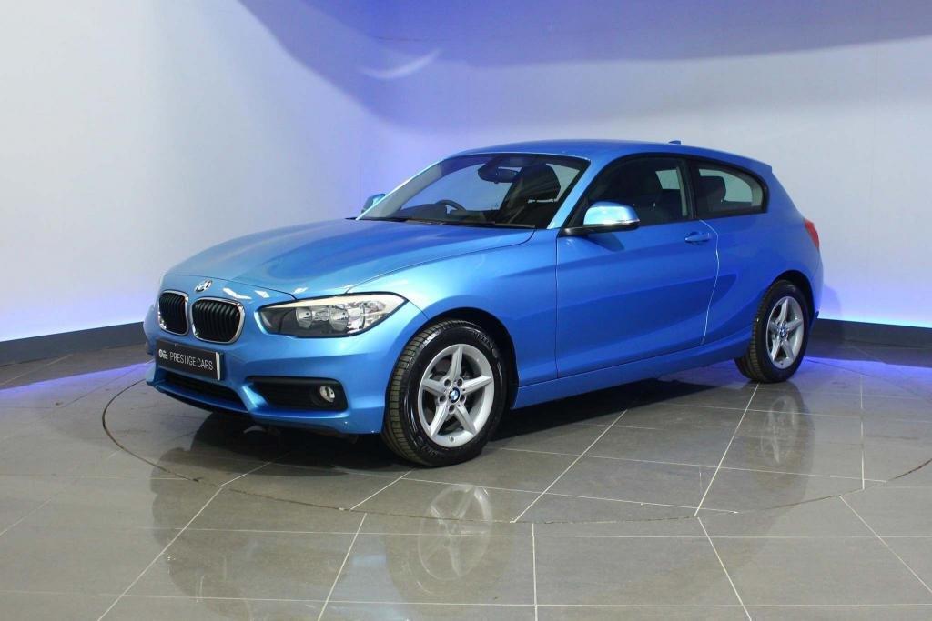 USED 2019 19 BMW 1 SERIES 1.5 118i GPF SE Sports Hatch (s/s) 3dr SAT NAV BLUETOOTH DAB RADIO