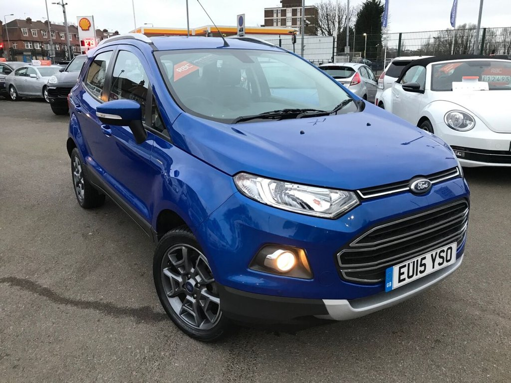 USED 2015 15 FORD ECOSPORT 1.0 TITANIUM X-PACK 5d 124 BHP RAC APPROVED ONLY 15000 MILES!