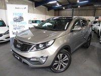 2013 KIA SPORTAGE 2.0 CRDI KX-3 5d 134 BHP £8690.00