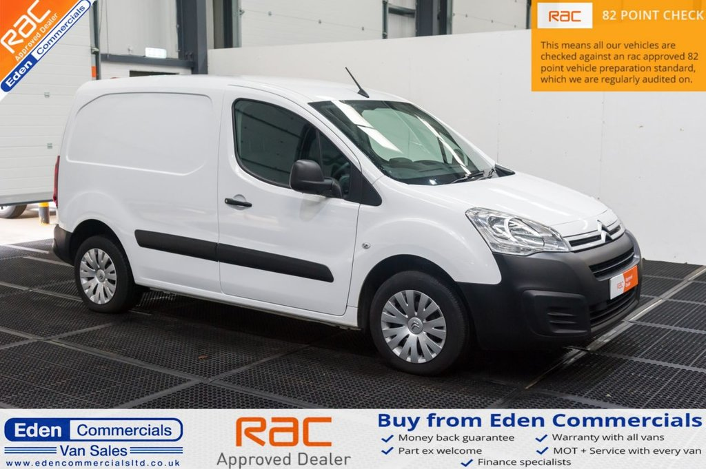 USED 2018 18 CITROEN BERLINGO 1.6 850 ENTERPRISE L1 BLUEHDI 98 BHP * EURO 6 * AIR CON * 3 SEATS