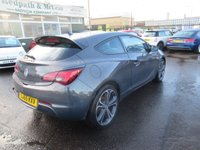 USED 2015 65 VAUXHALL ASTRA 1.4 GTC LIMITED EDITION S/S 3d 118 BHP
